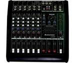 Omnitronic LS-822A, 8-kanálový aktivní mixážní pult - Omnitronic - Výkonový mixážní pult