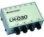 Omnitronic LH-030 - Omnitronic - Praktický zesilovač pro sluchátka