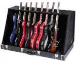 Stagg GDC-8, kufrový stojan pro 8 elektrických kytar - Stagg - Skládací stojan pro 8 elektrických nebo 4 akustické kytary