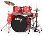 Stagg TIM322B SPRD, bicí sada, červená perleť - Stagg - Bicí sada včetně činelů