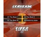 Karaoke set 4 kompilací - Červeňák - Musicer Karaoke - Karaoke DVD s 56 skladbami se zajímavým názvem