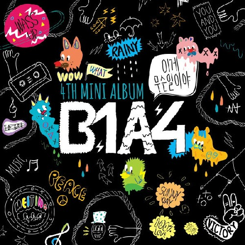 Foto alba: What's Happening? - B1A4