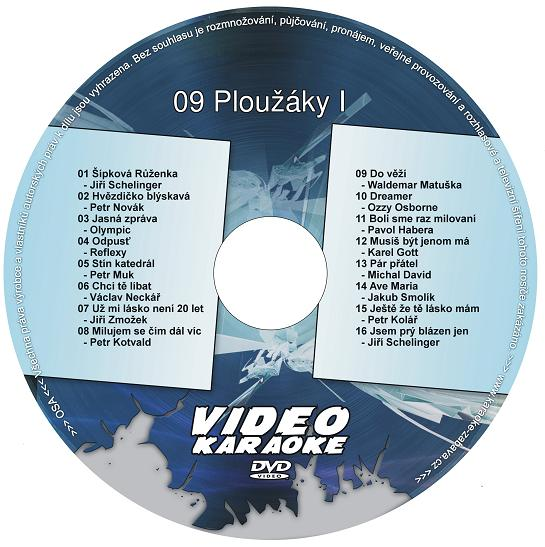 KARAOKE ZÁBAVA: Karaoke DVD 09 Ploužáky I