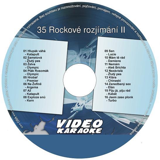 Karaoke  35 Rockové rozjímání II