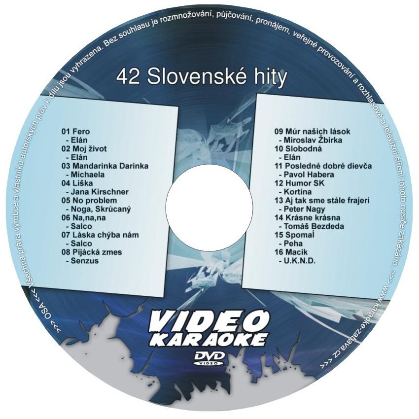 Karaoke  42 Slovenské hity