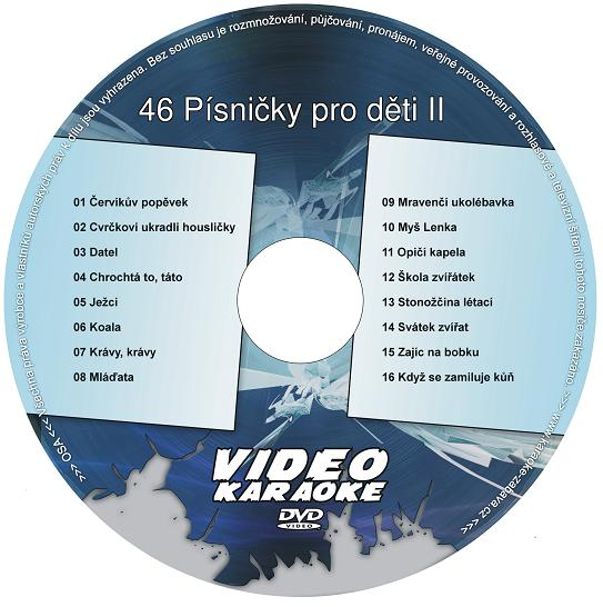 Karaoke  46 Písničky pro děti II