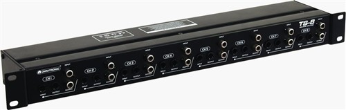 Omnitronic TS-8 - Pasivní 8-kanálový audio rozdělovač