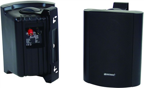 Omnitronic C-40 černé, reproboxy 75W - Cena za pár!