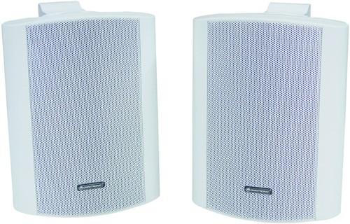 Omnitronic C-50 bílé, reproboxy 80W - Cena za pár!