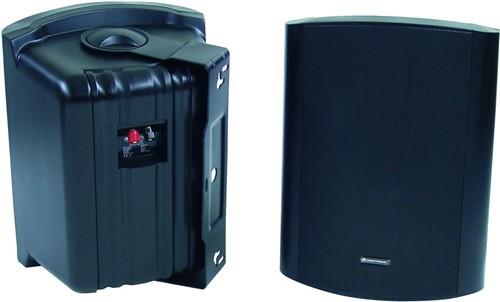 Omnitronic C-80 černé, reproboxy 125W - Cena za pár!