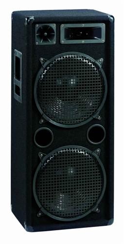 Omnitronic DX-2222, reprobox 400W - Výkonný 3-pásmový reprobox