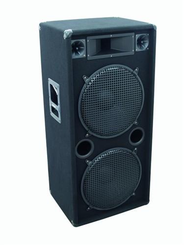 Omnitronic DX-2522, reprobox 500W - Výkonný 3-pásmový reprobox