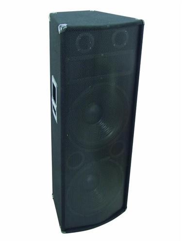 Omnitronic TX-2520, reprobox 500W - 2x 15