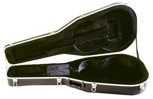 Stagg ABS-C, kufr pro klasickou kytaru - Tvarovaný standardní kufr pro klasickou kytaru