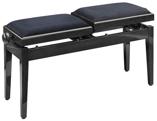 Stagg PB245 BKP VBK, stolička ke klavíru - Stolička ke klavíru dvojitá