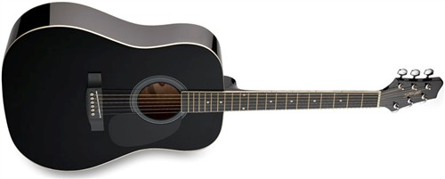 Stagg SW201BK, akustická kytara - Akustická kytara