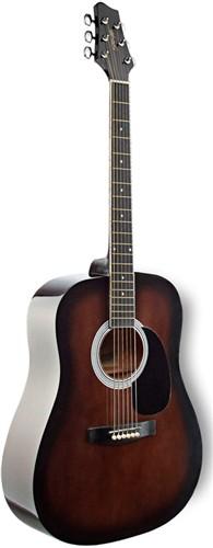 Stagg SW201BKS, akustická kytara - Akustická kytara