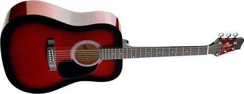 Stagg SW201RDS, akustická kytara - Akustická kytara typu Dreadnought
