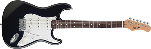 Stagg S300-BK, elektrická kytara - Elektrická kytara typu Strat