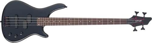 Stagg BC300-BK, baskytara - Baskytara typu Fusion
