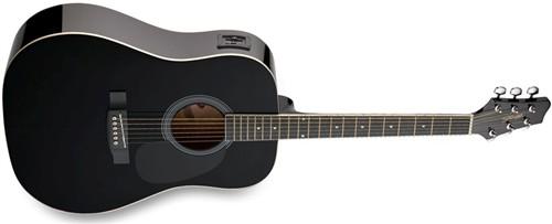 Stagg SW201BK-VT, elektro-akustick� kytara - Elektro-akustick� kytara typu Dreadnought