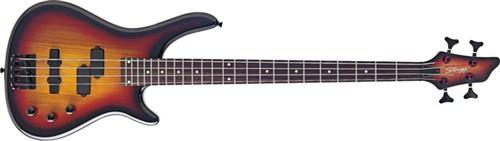 Stagg BC300-SB, baskytara - Baskytara typu Fusion