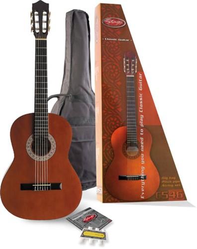 Stagg C546 PACK, kytarov� sada - 4/4 klasick� kytara - sada