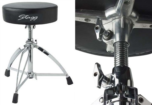 Stagg DT-220R, stolička k bicím - Stolička k bicím