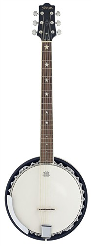 Stagg BJM30 G, banjo - Šestistrunné banjo