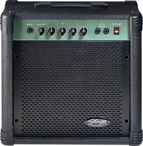 Stagg 40 BA, kombo pro el. baskytaru, 40W - 40 W basové kombo