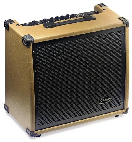 Stagg 60 AA R, kombo pro el. akustickou kytaru, 60W - Kombo 60 W pro akustickou kytaru