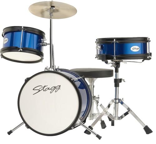 Stagg TIM JR 3/12 BL, dětská bicí sada, modrá - Sada bicích TIM Junior 3-dílná