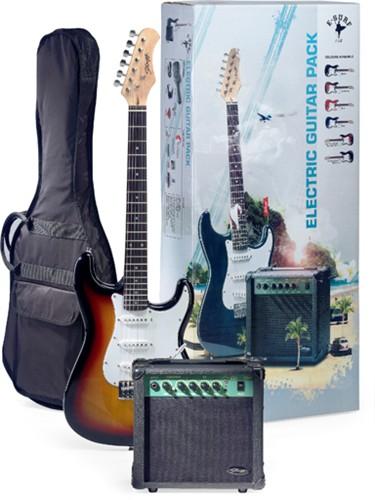 Stagg SURFSTAR 250 SB, kytarová sada - Sada elektrické kytary typu Strat a příslušenství
