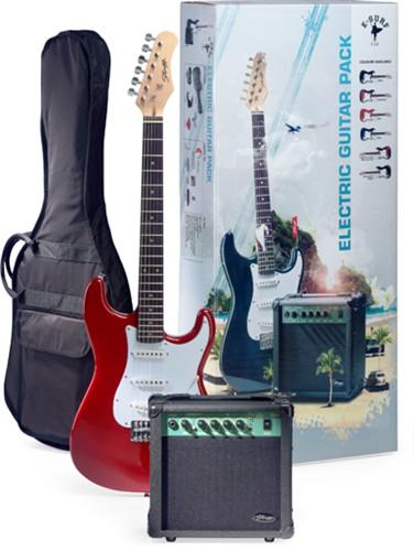 Stagg SURFSTAR 250 TR, kytarová sada - Elektrická kytara Surfstar + kombo set