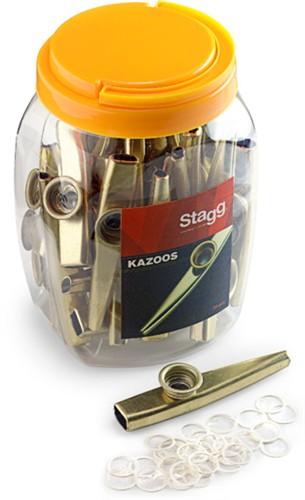 Stagg KAZOO METAL-30, kovové kazoo, 30ks - 30 ks kovových kazoo