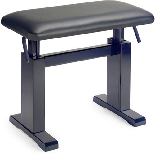 Stagg PBH 780 BKM LBK, hydraulická klavírní stolička - Hydraulická klavírní stolička