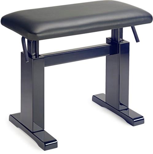 Stagg PBH 780 BKP LBK, hydraulická klavírní stolička - Hydraulická klavírní stolička