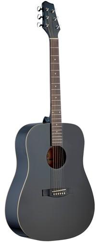 Stagg SA30D-BK, akustická kytara - Akustická kytara typu Dreadnought