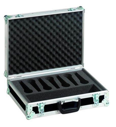 Mikrofonní kufr Pro 7, černý - Mikrofonní kufr Pro Black
