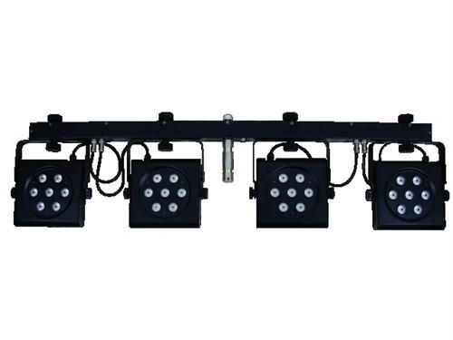 Eurolite LED KLS-801, 28x 3W TCL DMX, světelná rampa - Kompaktní DMX světelná hrazda