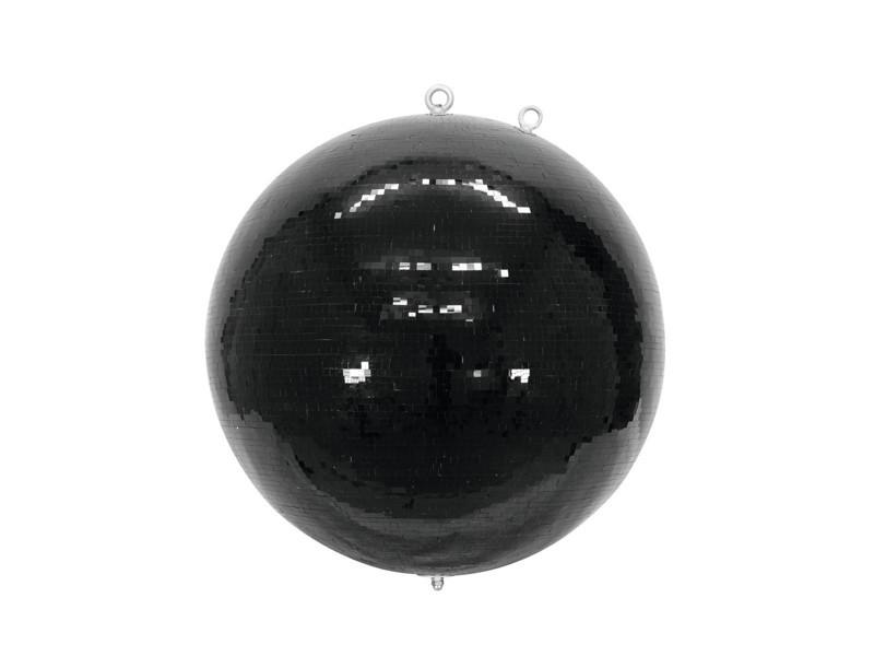 Zrcadlová koule 75 cm černá - Úžasná dekorace
