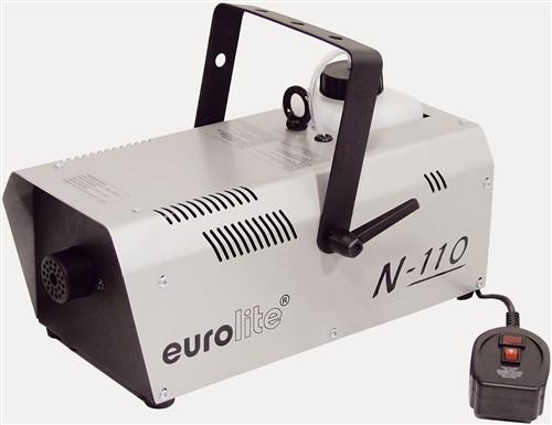 Eurolite N-110 výrobník mlhy 1000W, stříbrný - Výrobník pro náročné