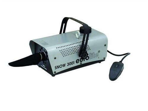 Eurolite Snow 3001, výrobník sněhu - Kompaktní výrobník umělého sněhu