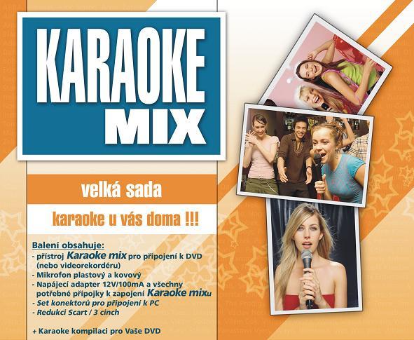 KARAOKE ZÁBAVA: Karaoke MIX - velká sada
