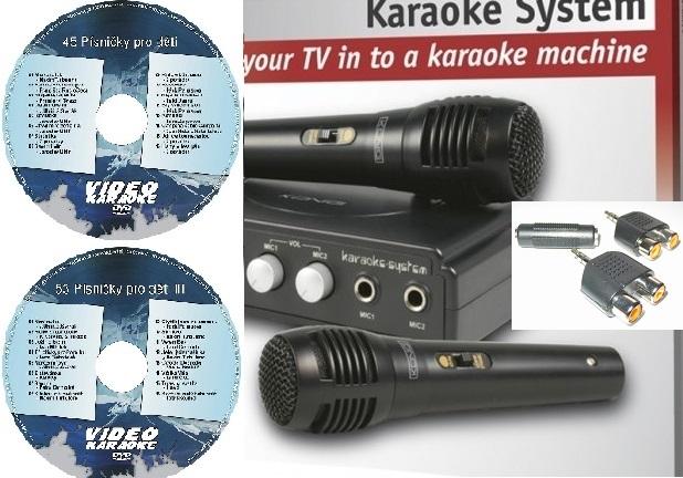 KARAOKE ZÁBAVA: Karaoke sada pro děti