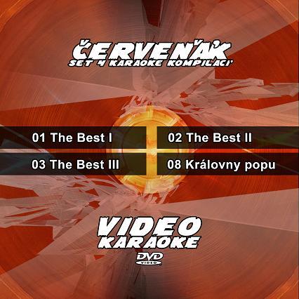 KARAOKE ZÁBAVA: Karaoke set 4 kompilací - Červeňák