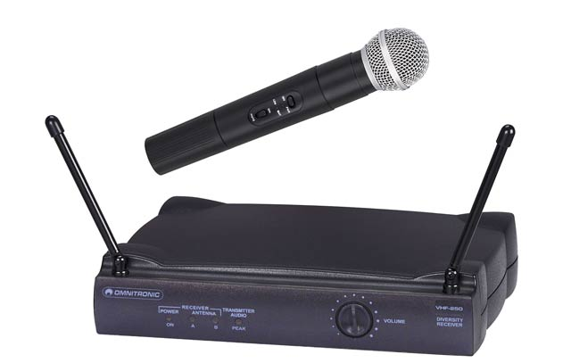 KARAOKE ZÁBAVA: Omnitronic VHF-250