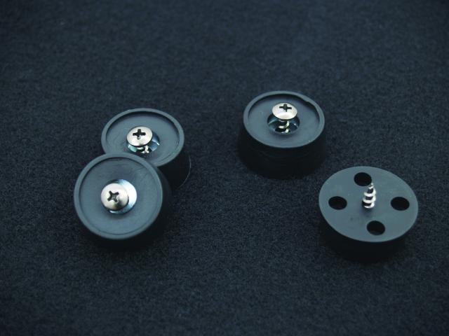 Omnitronic DX-2522, reprobox 500W - nožky