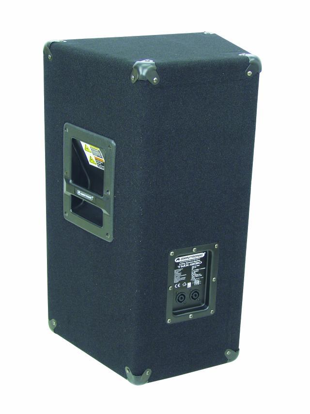Omnitronic TMX-1230, reprobox 400W - pohled zezadu-připojení