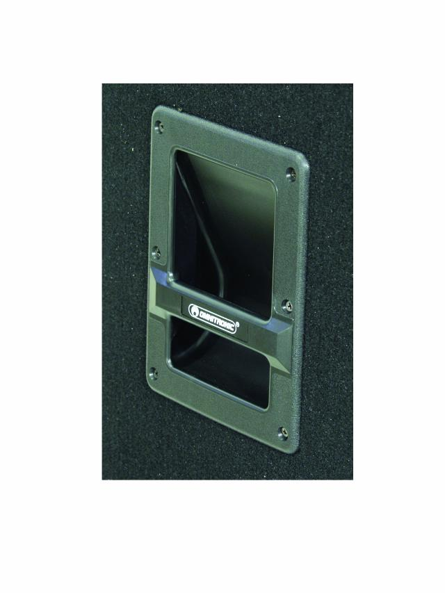 Omnitronic TX-1520, reprobox 350W - úchytka